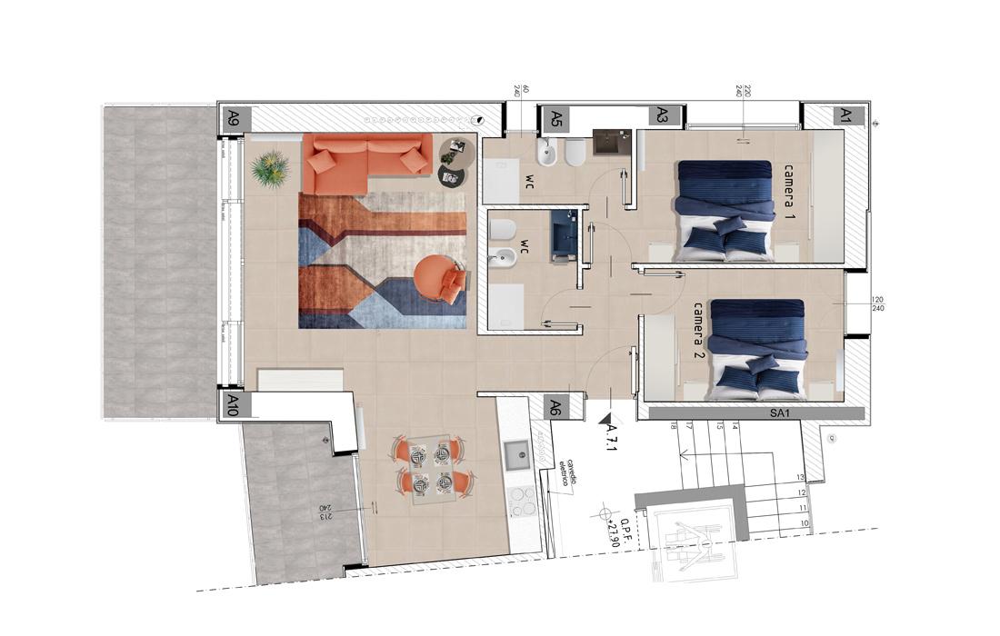 aretusa-appartamento