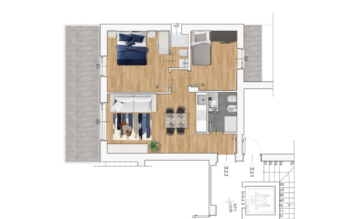 calipso-appartamento