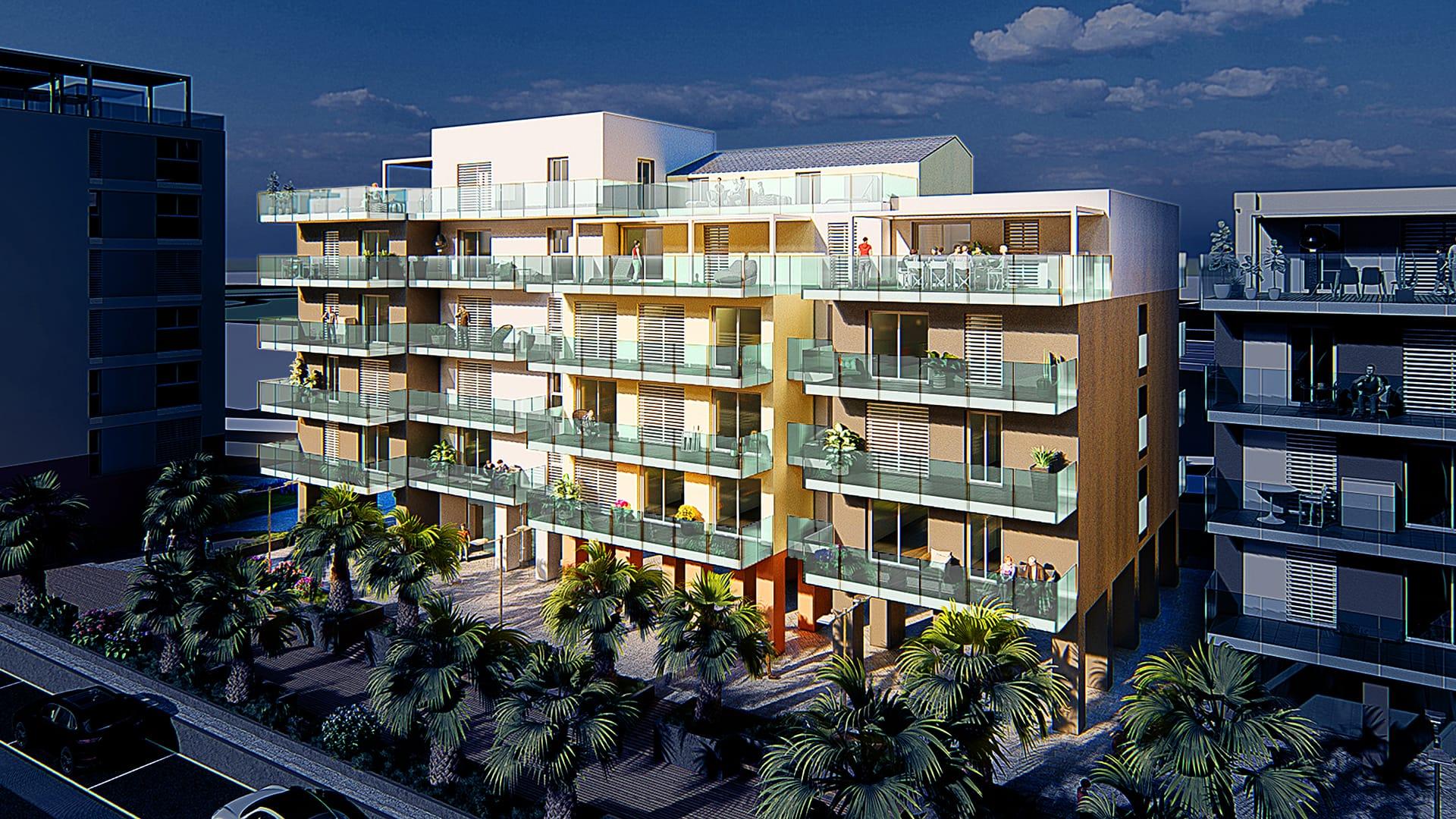Riviera Varazze complesso nuova costruzione